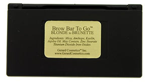 Brow Bar to Go, Brush on Brow - Gerard Cosmetics, Medium to Ebony (Brunette)