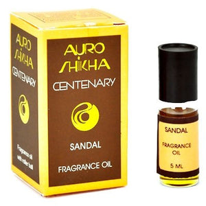 Auroshikha Sandalwood Fragrance Oil 5ML -1/6FL OZ