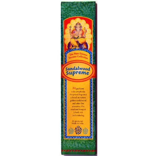 Incense Sandalwood Supreme - 30 Gram Box - Sold in Quantities of 4 Boxes
