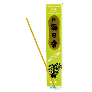 Morning Star Pine Incense - 4 Packs, 50 Sticks per Pack