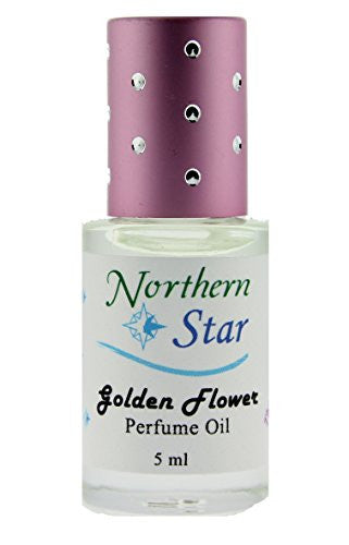 Golden Flower Perfume Oil - Roll-On Applicator 5ml