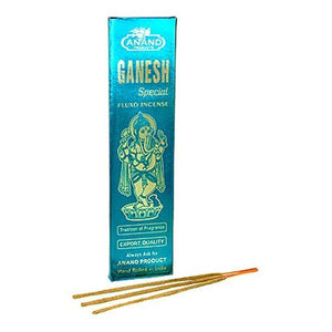 Ganesh Special Fluxo Incense - 5 Packs, 25 Grams per Pack