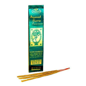 Anand Flora Fluxo Incense - 5 Packs, 25 Grams per Pack