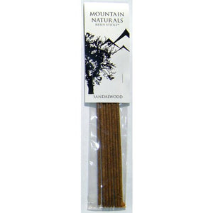 Incense Sandalwood Resin Sticks Mountain Naturals - Per Package