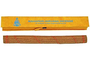 "Incense Mahapari-Nirvana Tibetan, 8.5"" Length - 3 Packs, 19 Sticks Per Pack"