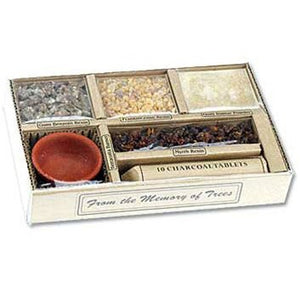 Auroshikha Resin Incense Gift Set