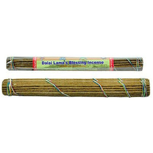 "Dalai Lama's Blessing Incense, 10"" Length - 3 Packs, 37 Sticks Per Pack"