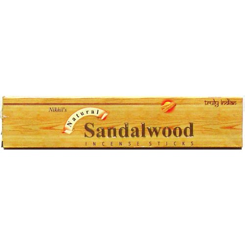 Sandalwood -Nikhil Product - 15 stick box - Sold in sets of 4 boxes
