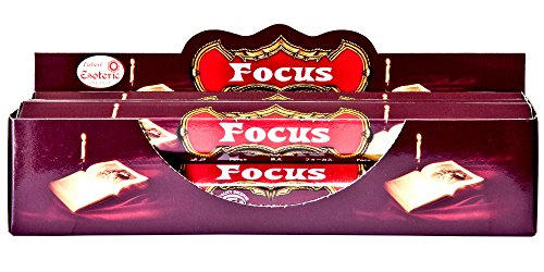 Tulasi Focus Incense - 6 Packs, 20 Sticks per Pack