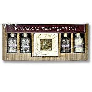 Auroshikha Natural Resin Incense Gift Set