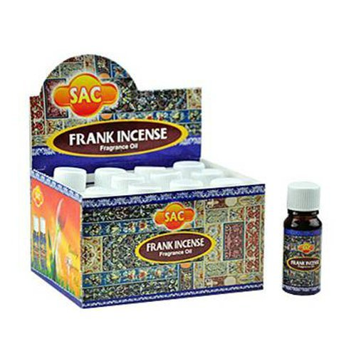 Sac Frankincense Aroma Oil - 10ml (1/3 Fl. Oz), Set of 3