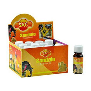 Sac Sandalo Aroma Oil - 10ml (1/3 Fl. Oz), Set of 3