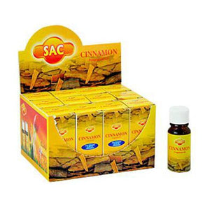 Sac Cinnamon Aroma Oil - 10ml (1/3 Fl. Oz), Set of 3