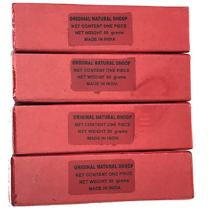 Meera Dhoop Special - 50 gram box - 4 thick logs - Sold in sets of 4 boxes