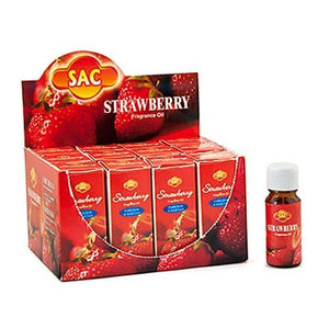 Sac Strawberry Aroma Oil - 10ml (1/3 Fl. Oz), Set of 3