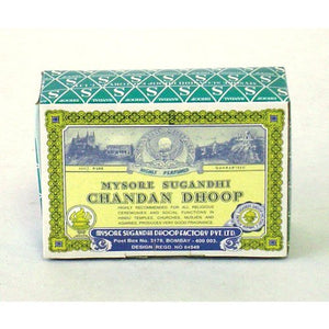 Chandan Dhoop - 16 jumbo logs per box - Sold in sets of 4 boxes