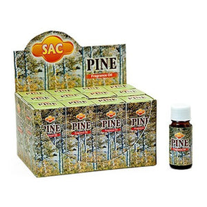Sac Pine Aroma Oil - 10ml (1/3 Fl. Oz), Set of 3