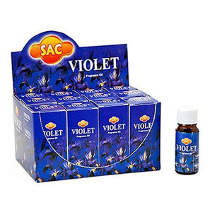 Sac Violet Aroma Oil - 10ml (1/3 Fl. Oz), Set of 3