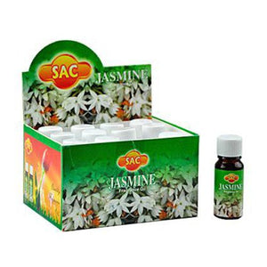 Sac Jasmine Aroma Oil - 10ml (1/3 Fl. Oz), Set of 3