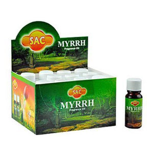 Sac Myrrh Aroma Oil - 10ml (1/3 Fl. Oz), Set of 3