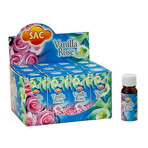 Sac Vanilla Rose Aroma Oil - 10ml (1/3 Fl. Oz), Set of 3