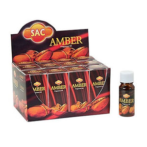 Sac Amber Aroma Oil - 10ml (1/3 Fl. Oz), Set of 3