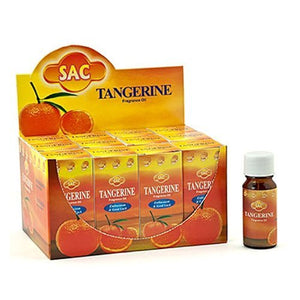 Sac Tangerine Aroma Oil - 10ml (1/3 Fl. Oz), Set of 3