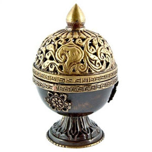 "Tibetan Censer Burner Antique - 6""H"