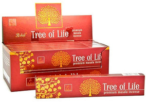 Balaji Tree of Life Incense - 15 Gram Pack (12 Packs Per Box)