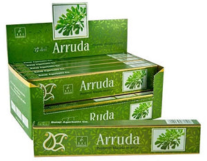 Balaji Arruda Incense - 15 Gram Pack (12 Packs Per Box)