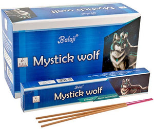 Balaji Mystic Wolf Incense - 15 Gram Pack (12 Packs Per Box)