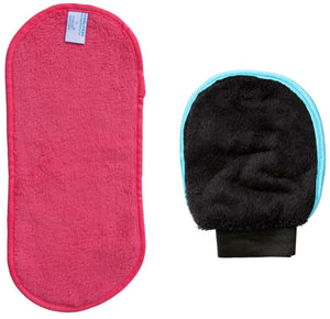 Both The Makeup Remover & Exfoliator Glove