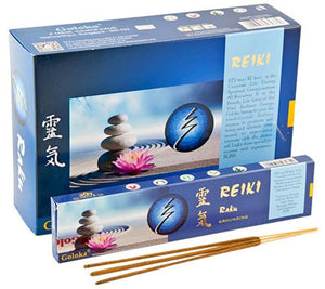 Goloka Reiki Raku Incense - 15 Gram Pack (12 Packs Per Box)