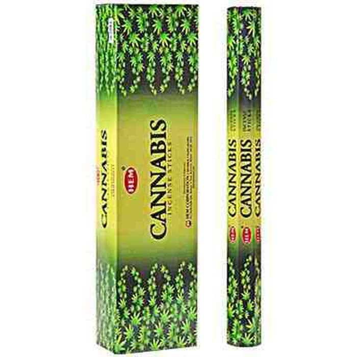 "Hem Cannabis 16""L Jumbo Sticks - 10 Sticks (6 Packs Per Box)"