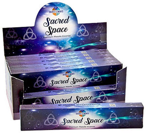Hem Sacred Space Incense - 15 Gram Pack (12 Packs Per Box)