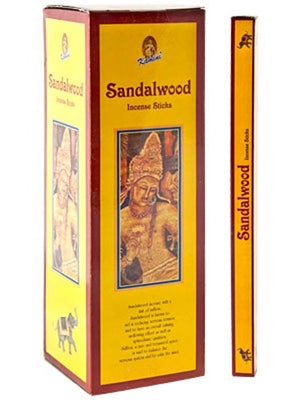 Kamini Sandalwood Incense - 8 Stick Packs (25 Packs Per Box)