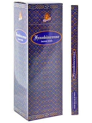 Kamini Frankincense Incense - 8 Stick Packs (25 Packs Per Box)