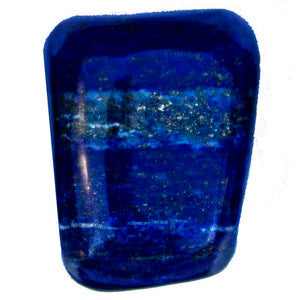Large Lapis Lazuli Cubes - Set of 3  - 1 inch (approx)
