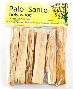 "Palo Santo Wood Incense Sticks  - 4""L (pack of 5 Sticks)"