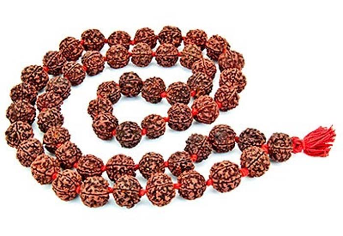 54 Beads Rudraksha Prayer Mala - 16mm