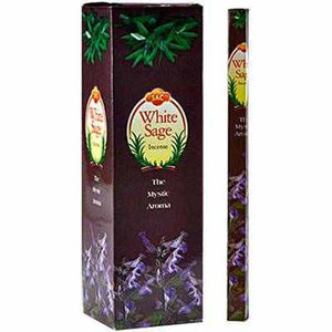 Sac White Sage - 8 Sticks Pack (25 Packs Per Box)