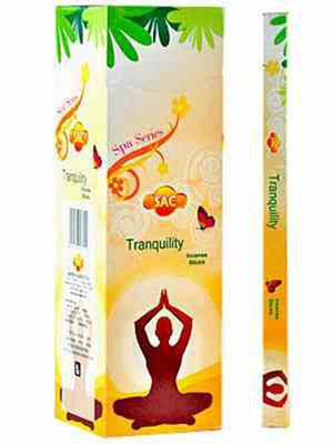 Sac Tranquility Incense - 8 Sticks Pack (25 Packs Per Box)