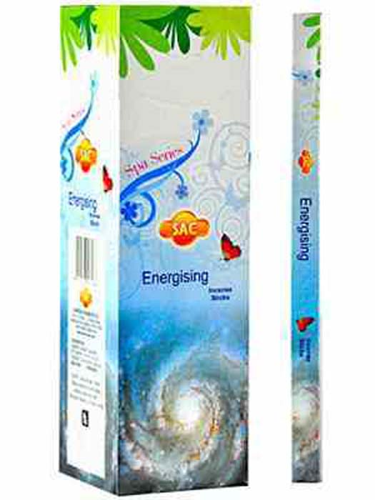 Sac Energising Incense - 8 Sticks Pack (25 Packs Per Box)