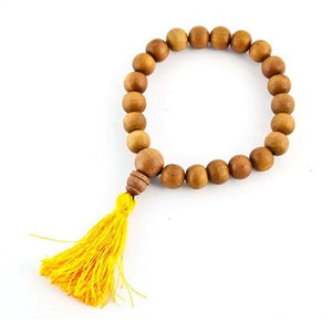 8mm Tibetan Sandalwood Fine Stretch Bracelet