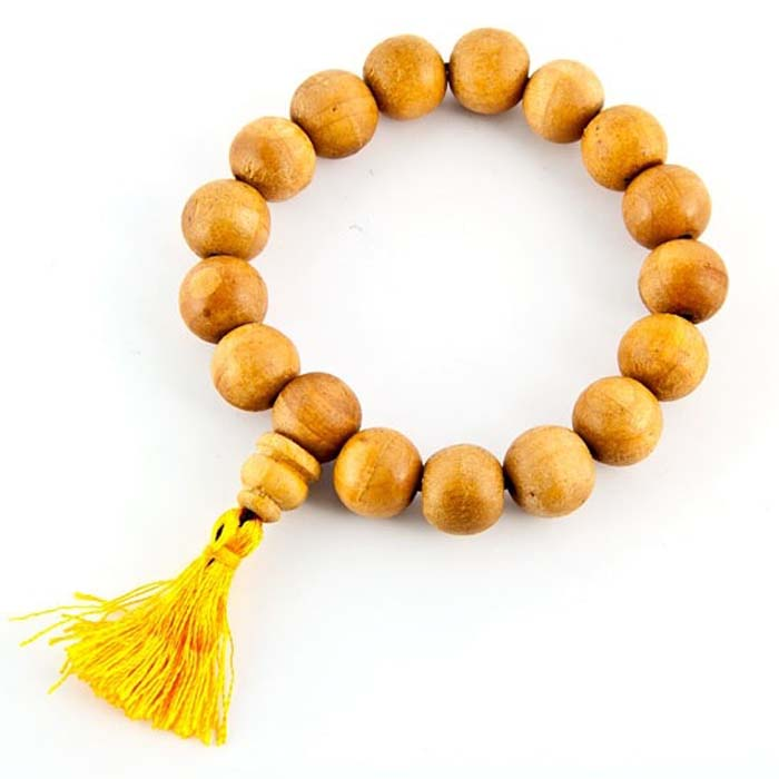 12mm Tibetan Wooden Stretch Bracelet - Sold as as Set of  2