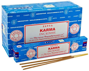 Satya Karma Incense - 15 Gram Pack (12 Packs Per Box)