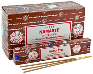 Satya Namaste Incense - 15 Gram Pack (12 Packs Per Box)
