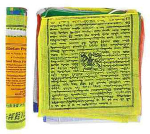"Tibetan Prayer Flag (25 Flags) - 9""W, 9.5""L"