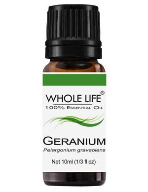 100% Pure Geranium Egyptian Essential Oil - Pelargonium graveolens | 10ml