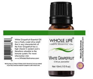 100% Pure White Grapefruit Essential Oil – Citrus paradisi | 10ml